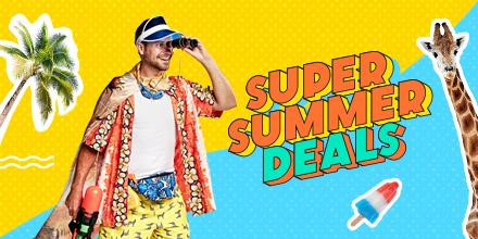 Bekijk hier de Super Summer Deals! Pak de bus en go!